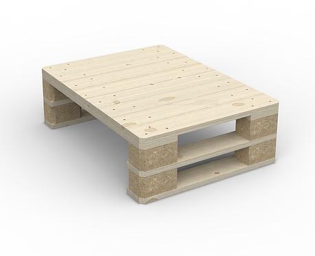 Loungetisch Holzpalette 80 x 60 cm