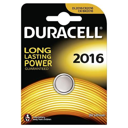 DURACELL Lithium DL2016 / BR2016 Batterien 10 Stk.