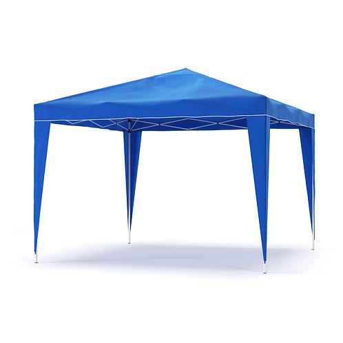 Gartenpavillon Partyzelt 3 x 3 m blau