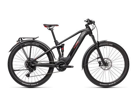 Cube Stereo Hybrid 120 Pro Allroad 500 black´n´red E-Bike Fully