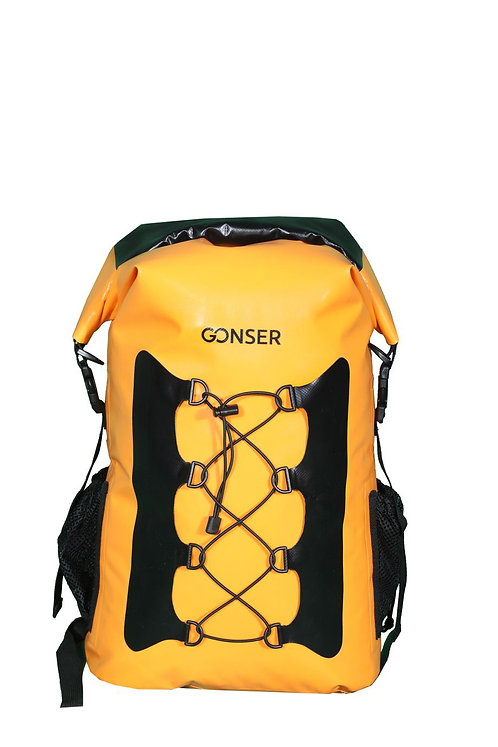 Dry Bag Rucksack wasserdicht orange 30L