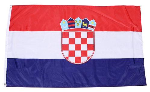 Nationalflagge Kroatien 90 cm x 150 cm