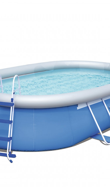 Bestway Swimming Pool Komplett-Set 488 x 305 x 107 cm