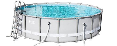 Bestway Swimming Pool Set mit Stahlrahmen 549 x 132 cm
