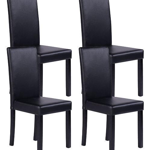 Esszimmerstuhl HARRY schwarz im 4er Set