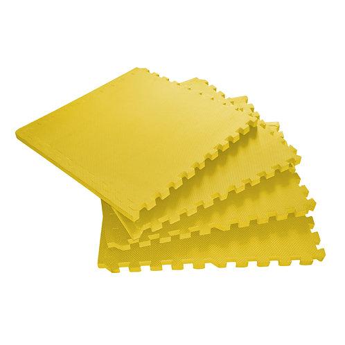 Bodenmatte 4er Set gelb