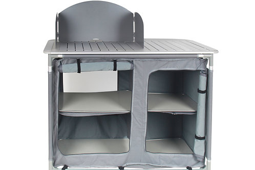 Campingküche grau 116 x 52 x 84 cm