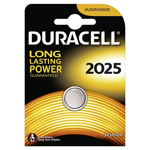 DURACELL Lithium DL2025 / CR2025 Batterie 10 Stk.