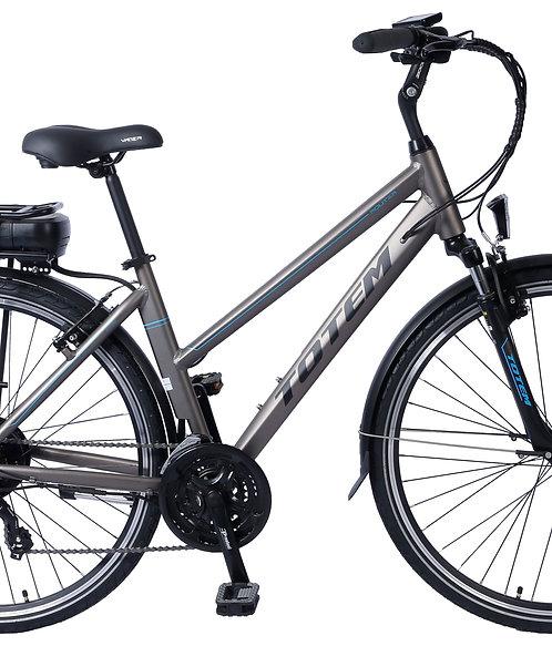 E-Bike Citybike SYDNEY grau