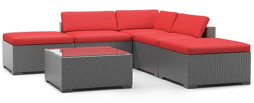 Ersatzkissen Lounge TEXAS rot