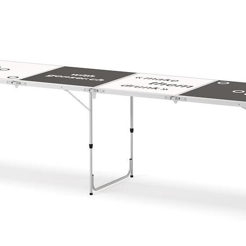 Beer-Pong Tisch 240 x 60 cm