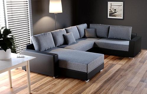 Sofa SIMON schwarz