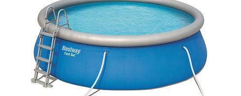 Bestway Swimming Pool Komplett-Set 457 x 122 cm