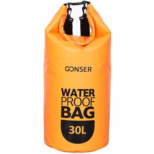 Dry Bag Tasche wasserdicht orange 30L