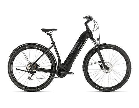 Cube Nuride Hybrid Pro 625 Allroad black´n´grey  E-Bike Hardtail Damen