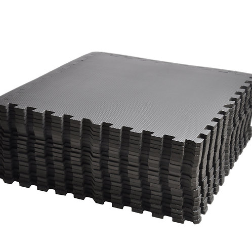 Bodenmatte 20er Set schwarz