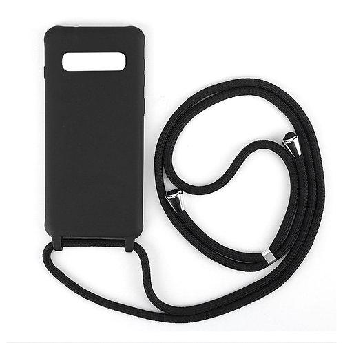 Handyhülle mit Band Samsung S10 schwarz