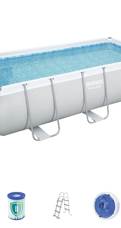 Bestway Swimming Pool Set 404 x 201 x 100 cm