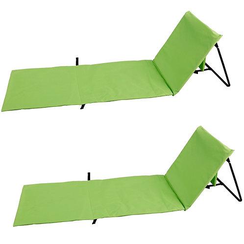 Strandmatte grün Doppelpack