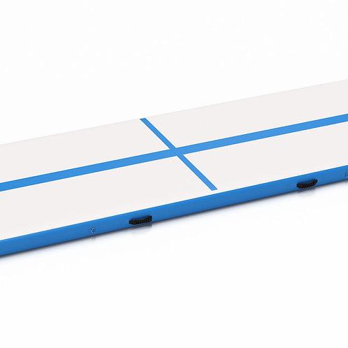 Airtrack Gymnastikmatte blau