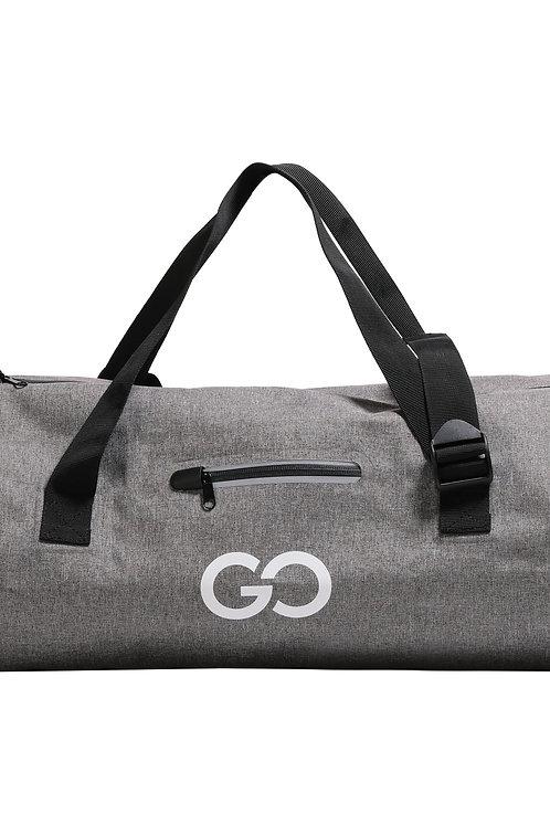 Duffle Bag Reisetasche 24L grau meliert