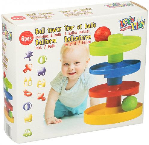 Baby Kugelbahn farbig