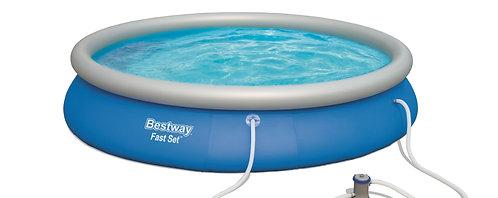 Bestway Pool mit Filterpumpe 457 x 84 cm
