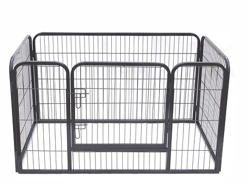 Laufgitter für Hunde massiv 125 x 80 x 70 cm