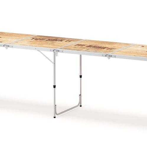 Beer-Pong Tisch WOOD 240 x 60 cm