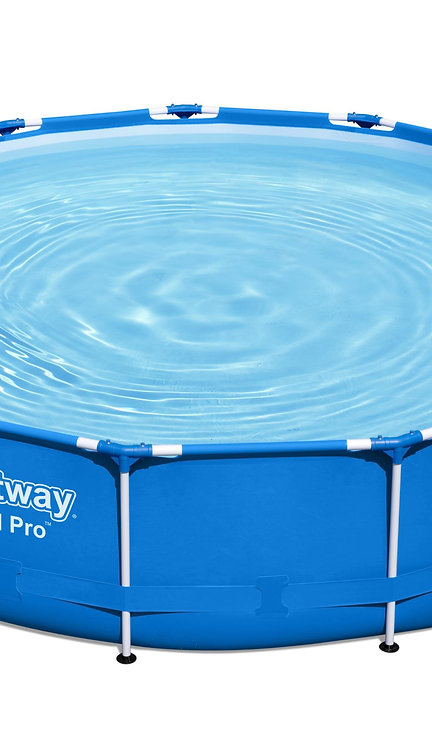 Bestway Pool mit Filterpumpe 396 x 84 cm