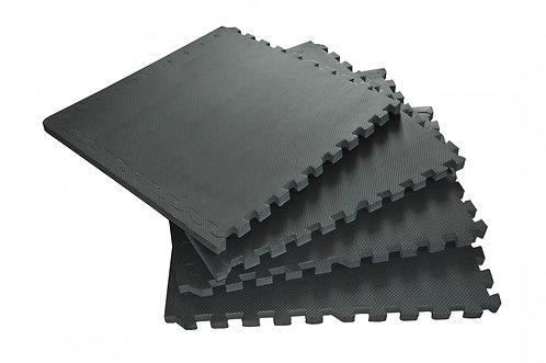 Bodenmatte 4er Set schwarz