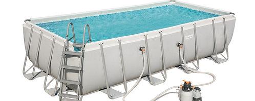 Bestway Swimming Pool Komplett-Set 549 x 274 x 122 cm