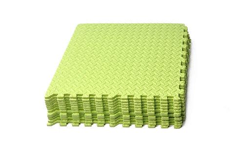 Bodenmatte 12er Set grün