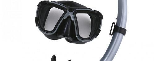 Hydro-Pro BlackSea Mask & Snorkel Set
