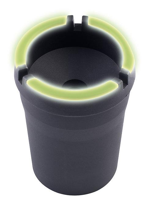 Aschenbecher mit Leuchtrand