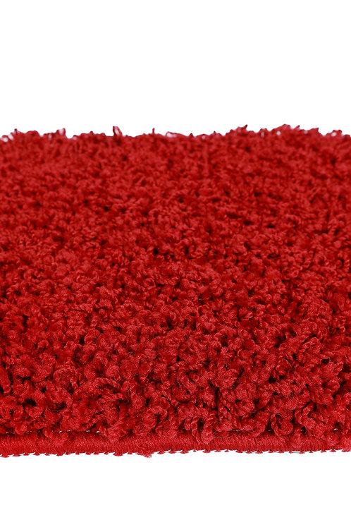 Hochflor Teppich 200 x 290 cm rot