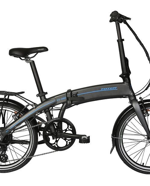 """E-Bike Klappvelo 20"""" BADGER GREY"""
