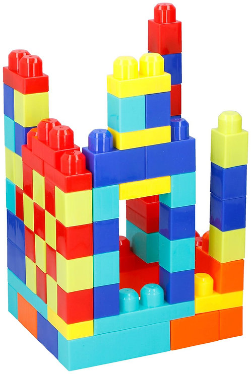 Kunststoff Bausteine 80-teilig