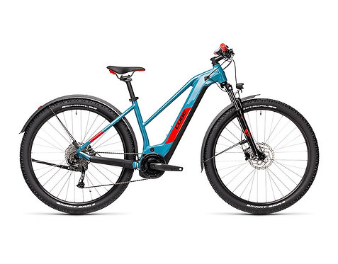 CUBE Reaction Hybrid Performance 500 Allroad Lady blue´n´red