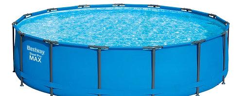 Bestway Swimming Pool Komplett-Set 457 x 107 cm