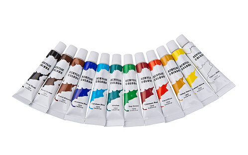 Acrylfarben 12er Set