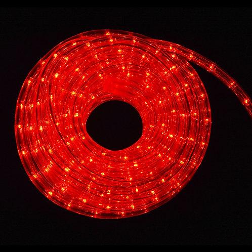 LED Lichterschlauch 20m rot