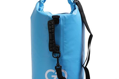 Dry Bag Tasche wasserdicht himmelblau 15L