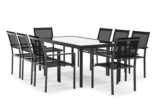 Gartenset RIMINI inkl. 8 Stühle