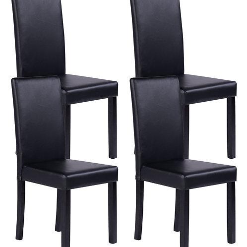 Esszimmerstuhl NICK schwarz 4er Set