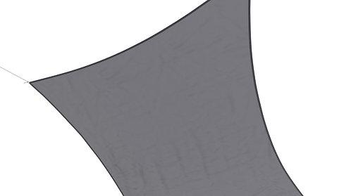 Sonnensegel Polyester 3 x 4 m grau