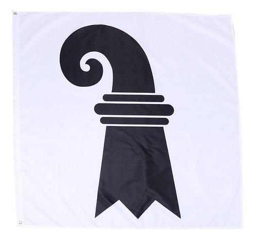 Kantonsflagge Basel-Stadt 120 cm x 120 cm