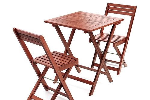 Gartenmöbel Set aus Holz ATLANTA