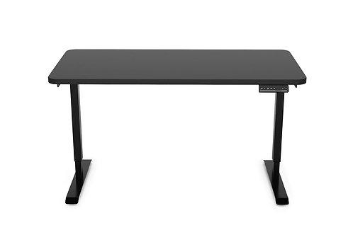 Stehpult elektrisch schwarz 120 x 60 cm