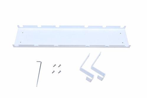Kabelkanal für Stehpult weiss
